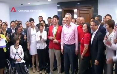 Video: Cách quốc hội Singapore chào đón nhà vô địch Olympic