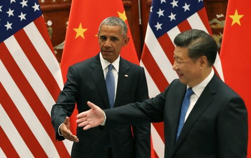 Gặp Tập Cận Bình, Obama nhấn mạnh vào tranh chấp Biển Đông