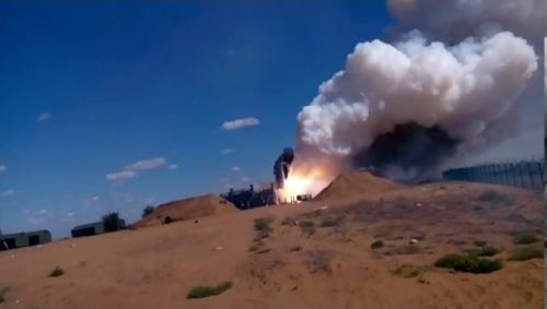Video: 'Rồng lửa' S-300 Nga nổ tung ngay sau khi rời bệ phóng