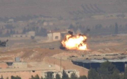 Video: Vừa mới tham chiến, xe tăng Đức đã bị IS bắn cháy