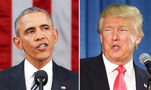 Obama bị Trump dội gáo nước lạnh vì nói có thể đắc cử lần 3