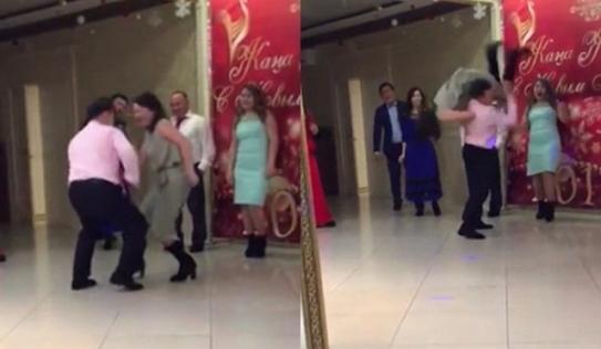 Video: Vũ công hất bạn nhảy ngã dúi, đập đầu xuống đất vì quá hăng