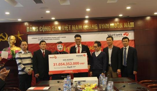 Một người ở Hà Nội trúng xổ số độc đắc 31 tỷ đồng