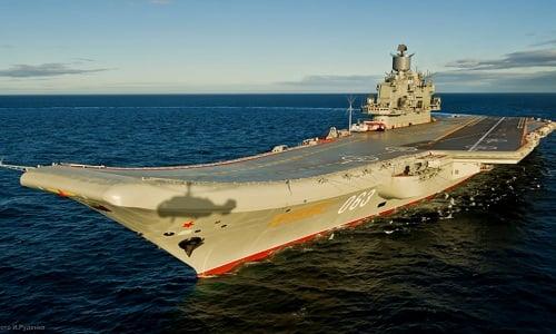 Tàu sân bay của Nga ngừng hoạt động trong suốt 3 năm