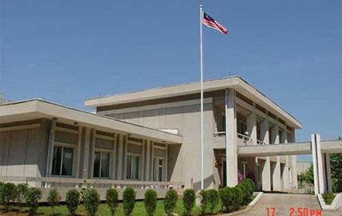 Đại sứ quán Malaysia tại Triều Tiên hạ quốc kỳ, đốt tài liệu
