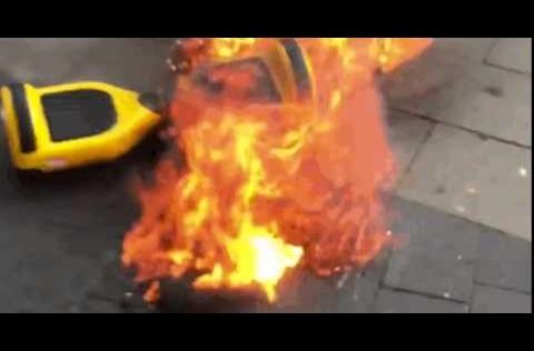 Bé 3 tuổi tử vong khi xe tự cân bằng bốc cháy