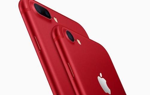 iPhone 7/7 Plus màu đỏ bất ngờ lên kệ giá từ 749 USD