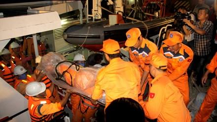 Phát hiện thi thể  thợ máy tàu Hà Thành 26 bị chìm ở Vũng Tàu