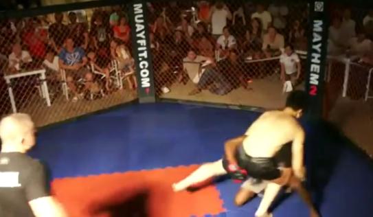 Video: Môn đồ Vịnh Xuân Quyền bị võ sĩ MMA hạ gục trong chớp mắt