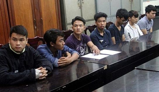 Bắt nhóm thanh niên đập phá hàng loạt ôtô ở Đà Nẵng