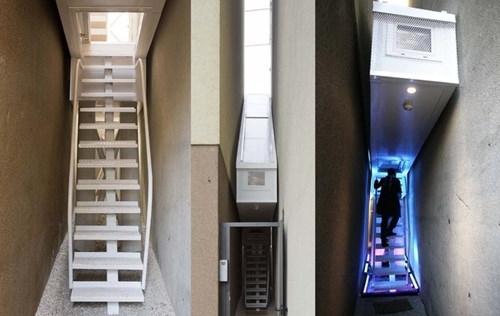 Choáng ngợp với ngôi nhà mỏng nhất thế giới rộng 1,2 m khiến nhiều người 'khao khát'