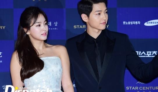 Song Joong Ki và Song Hye Kyo tuyên bố kết hôn vào tháng 10