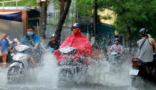 Tin thời tiết mới nhất 3/8: Bắc Bộ tiếp tục mưa vừa, mưa to