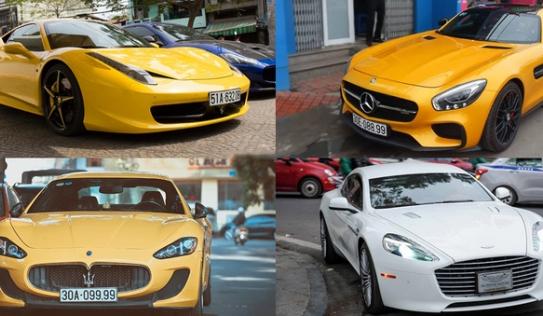 """Những bộ sưu tập siêu xe 'khủng' của các """"bóng hồng"""" Việt"""
