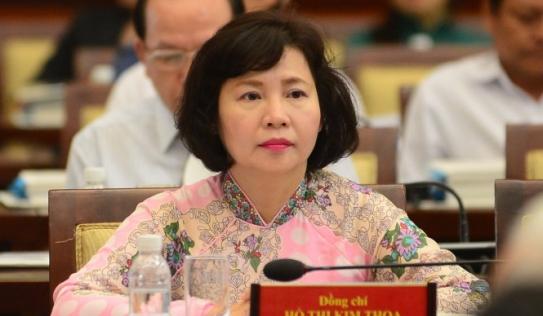 Bộ Công Thương cho bà Hồ Thị Kim Thoa nghỉ hưu từ ngày 1/9