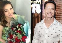 Kim Lý chia sẻ ảnh Hồ Ngọc Hà ôm hoa hồng kỷ niệm 3 tháng yêu nhau?