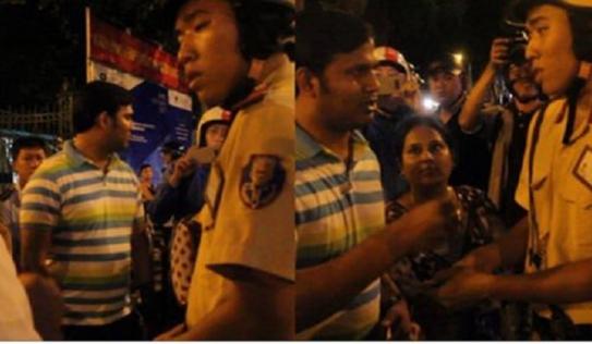CSGT 'bắn' Tiếng Anh 'nhanh như gió' giúp ông Hải xin lỗi với 2 du khách Ấn Độ bị giật túi xách