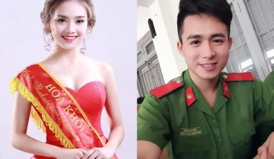 Chồng hot boy cảnh sát của top 10 HHVN 2016 Tố Như lần đầu lộ diện