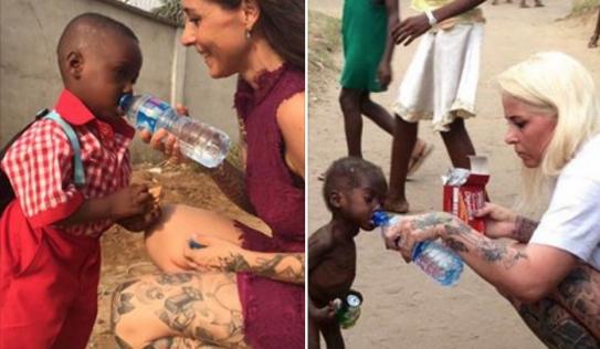 Bất ngờ với hình ảnh cậu bé châu Phi gầy trơ xương bị bỏ rơi sau 1 năm
