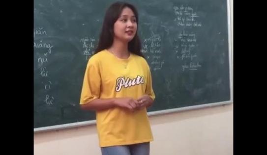 Nữ sinh hát quan họ hút triệu view trên MXH