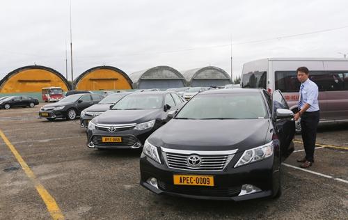 Mua mới gần 800 ô tô để phục vụ cho việc vận chuyển khách dịp APEC