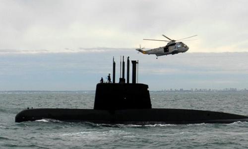 Phát hiện âm thanh lạ từ tàu ngầm mất tích của Argentina