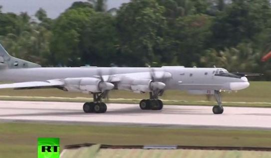 'Gấu Nga' Tu-95 lần đầu sải cánh tuần tra trên Thái Bình Dương