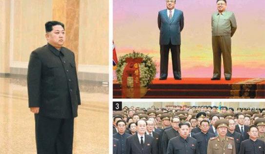 Thông điệp bất ngờ từ bức ảnh ông Kim Jong-un 1 mình đến viếng cha và ông nội