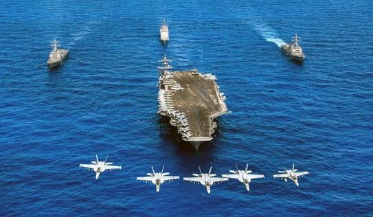 Tối nay, Hải quân Hoa Kỳ mở tiệc chiêu đãi trên tàu sân bay USS Carl Vinson