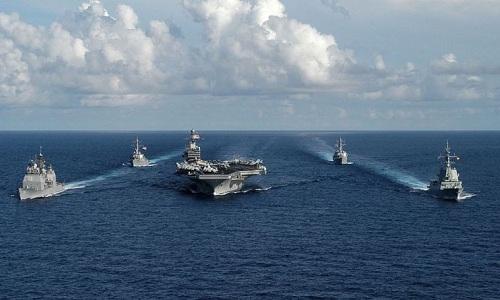 Mỹ sắp điều nhóm tác chiến tàu sân bay đến Biển Đông diễn tập
