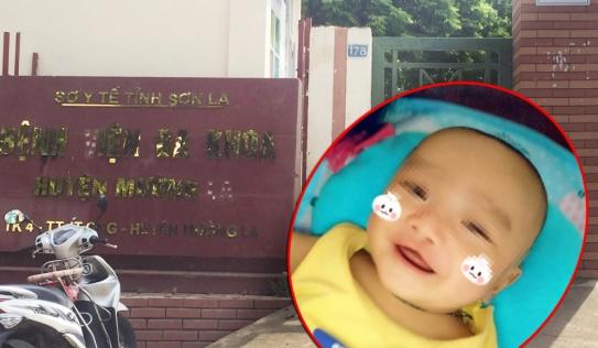 Vụ trẻ 4 tháng tuổi tử vong ở Sơn La: Tạm đình chỉ công tác kíp trực