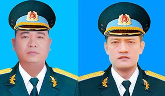 Vụ rơi máy bay Su-22: Thông tin chính thức lễ viếng, truy điệu 2 phi công hy sinh