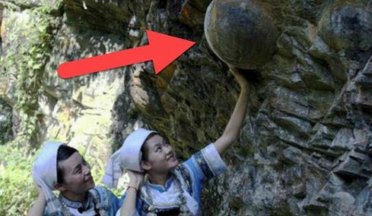 Bí ẩn vách đá biết 'đẻ trứng' ở Trung Quốc, cứ 30 năm lại sản sinh một lần