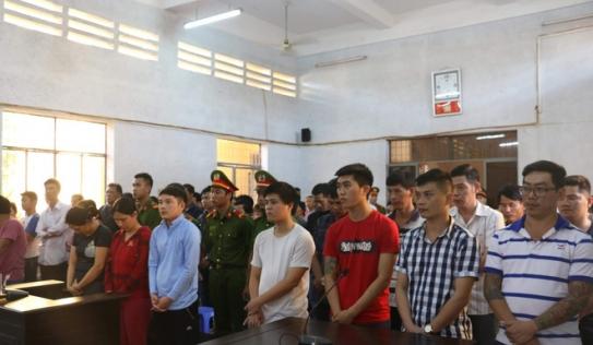 40 bị cáo lãnh án trong vụ bắt sới bạc lớn nhất tại Tây Nguyên