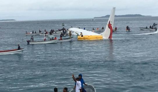 Vụ máy bay trượt khỏi đường băng lao thẳng xuống biển: Hỗ trợ đưa 4 công dân Việt Nam về nước