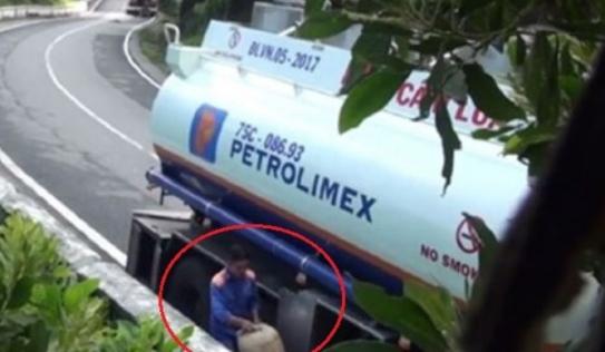 Vụ hút trộm xăng dầu trên đèo Hải Vân: Đình chỉ 5 tài xế vi phạm