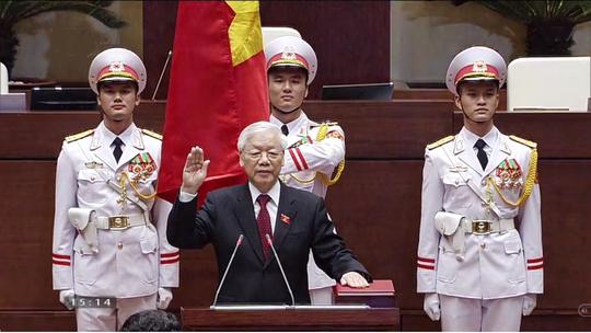 Nguyên thủ nhiều nước gửi điện mừng Tổng Bí thư - Chủ tịch nước Nguyễn Phú Trọng