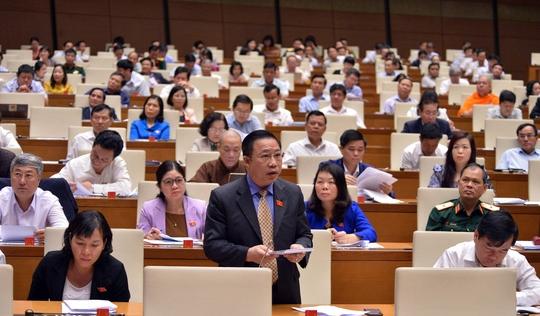 ĐBQH Lưu Bình Nhưỡng: 'Bộ Công an có 10 người như Hồ Sỹ Tiến thì hay biết mấy'