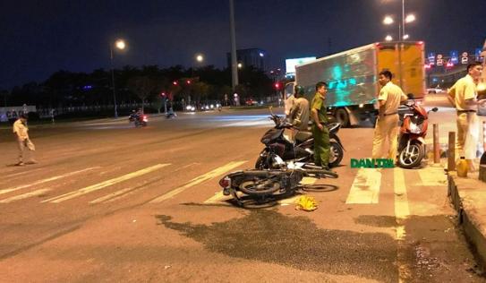 Xe cứu thương chở nạn nhân mất tích không dấu vết ở Sài Gòn