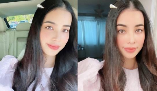 Lâu lâu mới đăng ảnh, Hoa hậu Phạm Hương khoe nhan sắc ngày càng thăng hạng