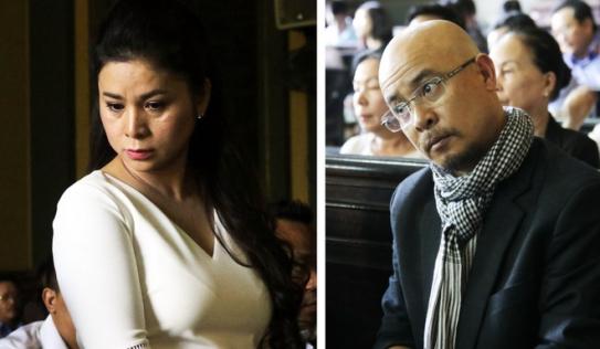 Hậu ly hôn, ông Đặng Lê Nguyên Vũ và bà Lê Hoàng Diệp Thảo lại 'chìm' trong kiện tụng