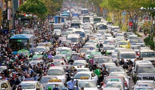 Hà Nội đang hoàn thiện đề án cấm xe máy nội đô năm 2030