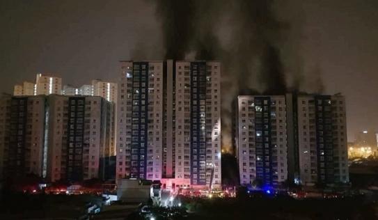 Thông tin mới vụ cháy chung cư Carina Plaza làm 13 người tử vong ở TP HCM