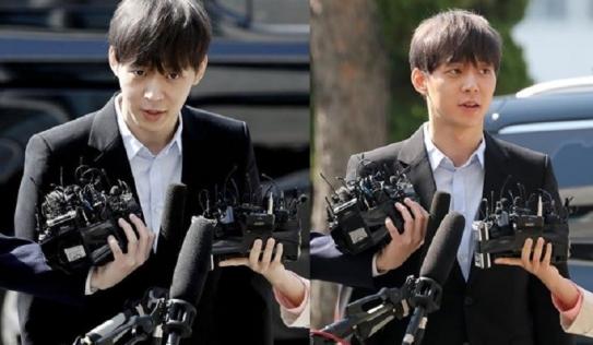 Park Yoo Chun tươi cười trình diện cảnh sát sau khi âm tính với ma túy
