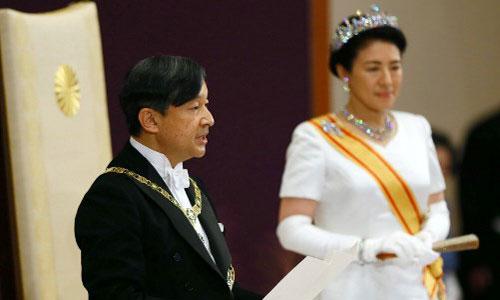 Tân Nhật hoàng Naruhito chính thức lên ngôi