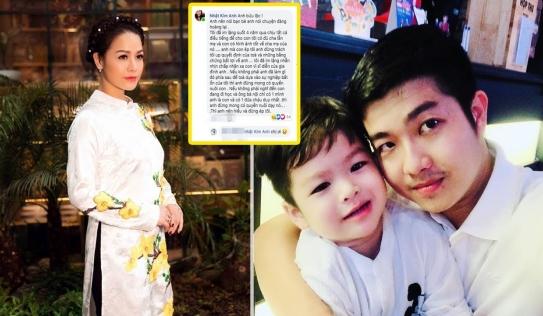Nhật Kim Anh bất ngờ 'đăng đàn' dằn mặt chồng cũ