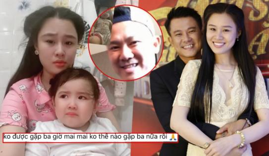 Bà xã Vân Quang Long đau đớn sau khi hay tin ông xã qua đời tại Mỹ