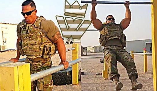 Đặc nhiệm Mỹ được ví như 'thép nguyên chất' khoe sức mạnh vô song