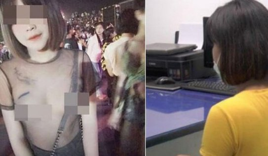Mặc áo xuyên thấu tham dự lễ hội té nước Songkran, mỹ nhân chuyển giới trả giá