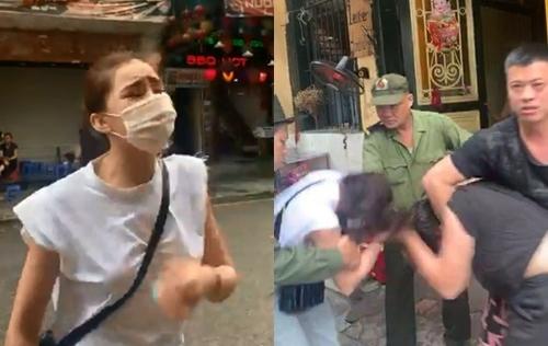 Lộ clip Lưu Đê Ly và anti-fan 'đại chiến' trên phố Hàng Buồm
